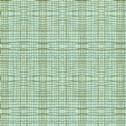 M Makower Stitch Check - 3442 - Contemporary Checked Blender, Duckegg - 5622 T39 - Cotton Fabric